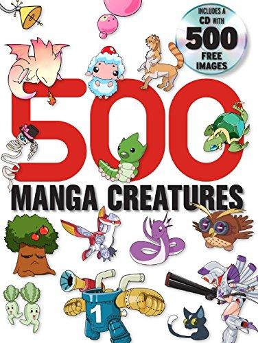 500 Manga Creatures (500 Manga)