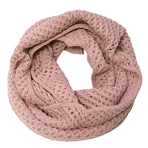 Wrapables Soft Winter Warm Scarf, Ballet Pink