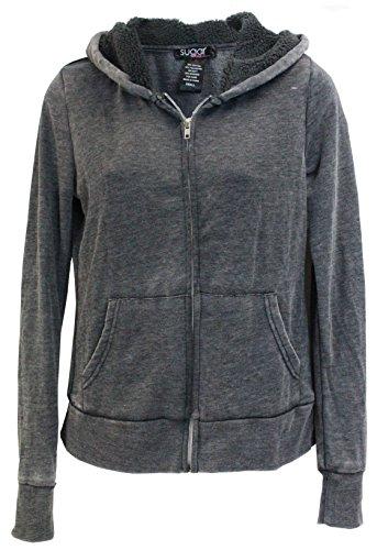 Zippered Girls Sweatshirt - 7
