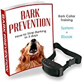 Bark Collar Training System with Barking Collar Training E-Book