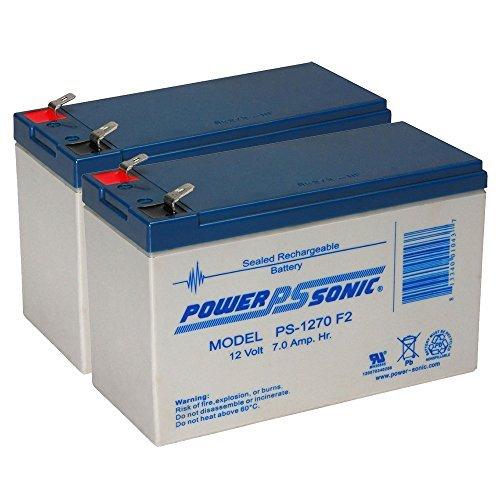 PS-1270 12 Volt 7 AH SLA Battery .250 F2 TERMINAL - 2 Pack