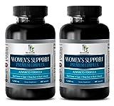 Wellness Formula for Women - Women's Support Premium Complex - Advanced Formula - Wellness Formula 180 Tablets - 2 Bottles (120 Capsules)