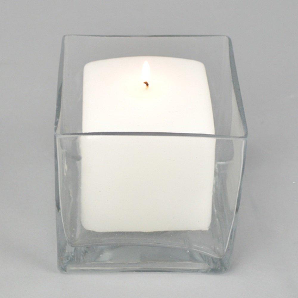 Square, candle, glass, vase, wedding, diy, budget wedding