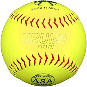 1 Dozen TRUMP Softball AK-EZ-11-ASA-FDL