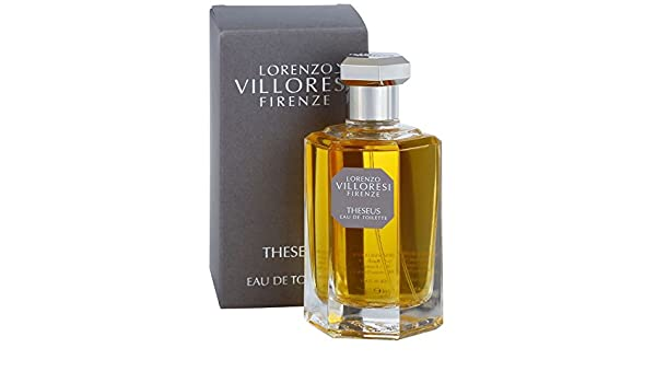 Amazon.com : Lorenzo Villoresi Theseus Eau de Toilette 3.4 Oz./100 ml New in Box : Beauty