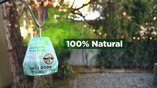 Greenerways Organic Mosquito Repellent Zone - New Improved ...