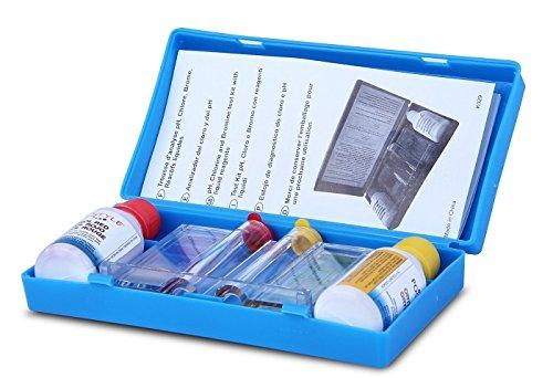 Test KIT Basic Ph & Chlorine 1/2 Oz OTO RED OTO Analizador de Cloro y PH De Dos Pasos Para Agua de Albercas Y Spas