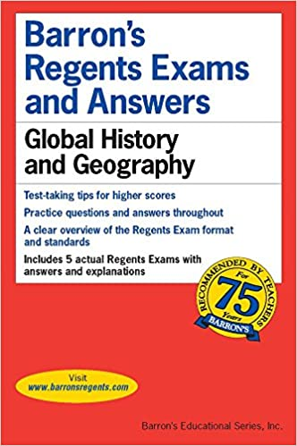 Amazon global history and geography barrons regents exams global history and geography barrons regents exams and answers books copyright 2006 edition publicscrutiny Images