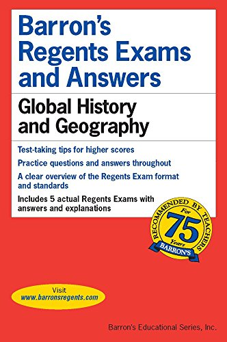 Global History and Geography (Barron's Regents Exams and Answers Books) cover