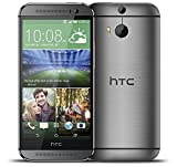 HTC One M8 32GB 4G LTE Quad-Core Android Smartphone - Gunmetal Grey - (Renewed)