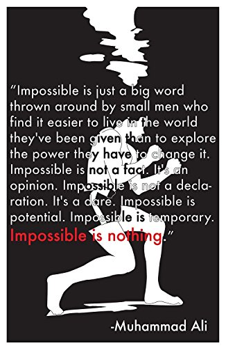 Muhammad Ali Poster - Impossible is nothing