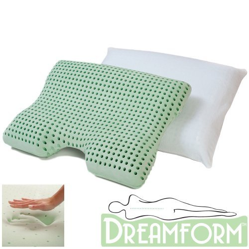 Dream Form Dual Comfort Memory Foam Pillow with Cover ()
