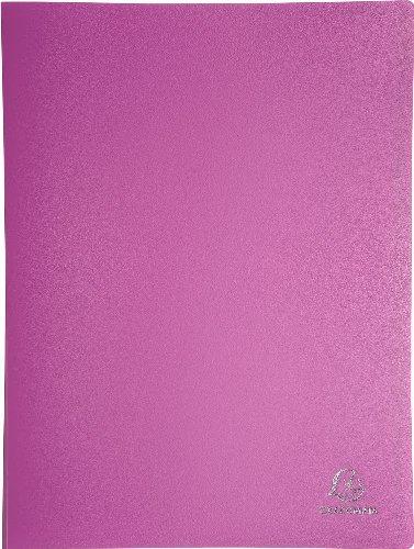 Exacompta Prot/ège-document souple 10/pochettes PP format A4 24x32mm bleu