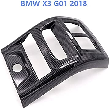 HIGH FLYING f/ür X3 G01 2018 2019 2020 Interieur Armlehne Dekor Kohlefaserfarbe 1 St/ück