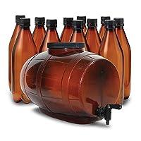 Mr. Beer - Equipo de equipo de cerveza artesanal de cerveza de 2 galones
