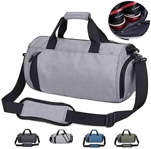 Drawstring Sports Ball Bag Nylon Black Shoulder Drawstring with Waterproof Lightweight Folding Fitness Outdoor Travel Backpack Men 4048cm MUMUJIN