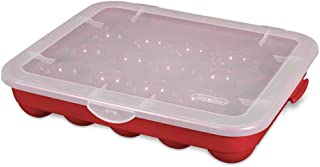 product image for Sterilite Christmas Ornament Storage Case.
