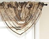 Best Home Fashion Sheer Curtains - Renaissance Home Fashion Jasmine Tile Print Sheer Waterfall Review