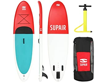 SUPAIR 10 0 – SUP inflable STAND UP PADDLE BOARD + bomba + bolsa +
