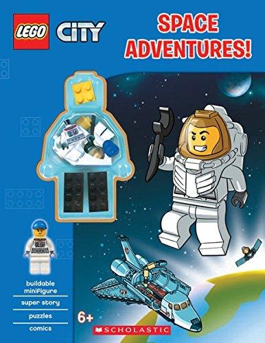 LEGO? City: Space Adventure (Activity book with figurine) by Ameet Studio (April 01,2016) (Studio Figurine)