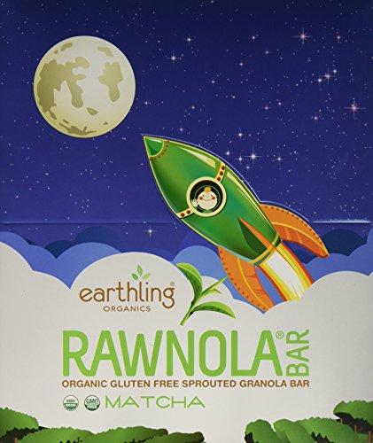 EARTHLING ORGANICS ORGANIC RAWNOLA MATCHA product image