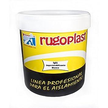 Pintura Impermeabilizante Economica Ideal Para Eliminar Las Goteras De Tu Terraza Tejado Casa Iglú Varios Colores 15l Blanco Envío Gratis 24 H