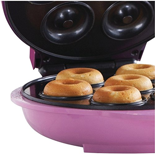 Brentwood RA25986 Appliances TS-250 Electric Food (Mini Donut Maker), One-Size Pink by Brentwood (Image #5)