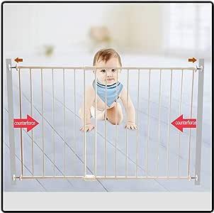 QIANDA Barrera Seguridad Niños Protector Escaleras Bebe Puerta De ...