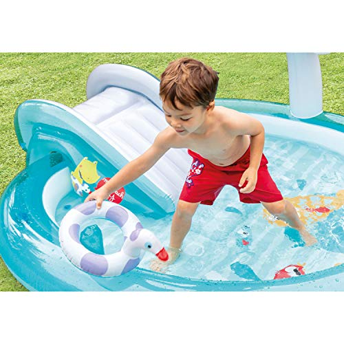Intex Gator Inflatable Play Center, for Ages 2+
