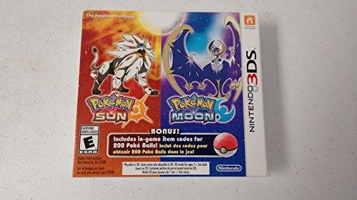 Pok%C3%A9mon Sun Moon Dual Pack game