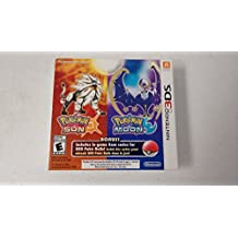 Pokémon Sun and Pokémon Moon Dual Pack - BONUS in-game Item Codes for 200 Poke Balls! - Nintendo 3DS