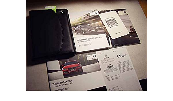 bmw 335i 2012 owners manual