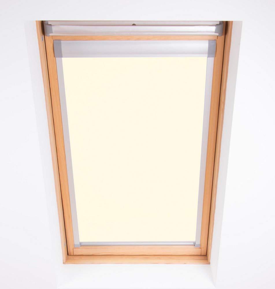 Bloc Skylight MK08 Rollo für Velux Dachfenster Blockout, cremefarben