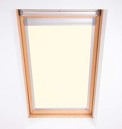 Bloc Skylight Blind C02 for Velux Roof Windows Blockout, Cream