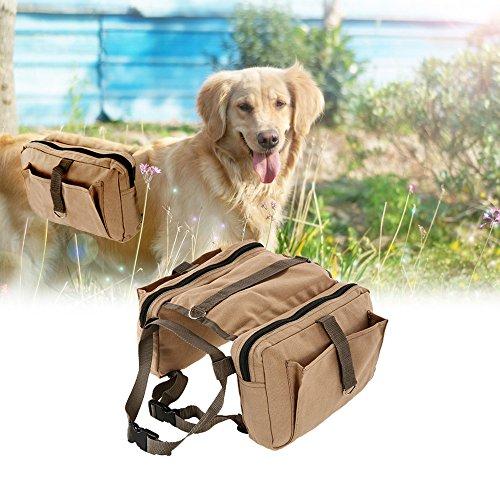 Lixada Hound Travel Camping Hiking Backpack Saddle Bag Rucksack Dog Pack for Medium or Large Dog by Lixada (Image #6)