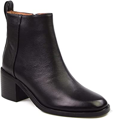 Womens Genuine Leather Chelsea Ankle