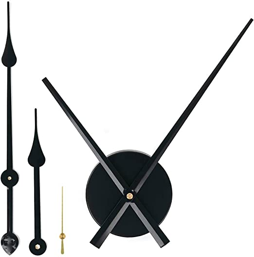 Amazon Com Emoon 2 Pair Hands 3d Clock Movement Diy Large Wall Clock Quartz Clock Mechanism For Home Art Decor Home Kitchen