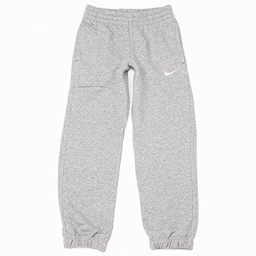 Nike Jungen N45 BF CUFF PANT Kinder Trainingshose (YTH) grau, Größe:M(140-152)