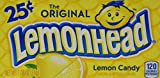 Ferrara Pan Lemonheads, 0.8 Ounce Package, 24 Count