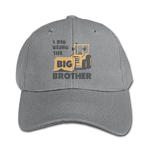 Four Seasons Hat (Wang Big Brother Gift For Tractor Loving Unisex Kids Peaked Hat Boys Girls Baseball Cap Adjustable Four Seasons)