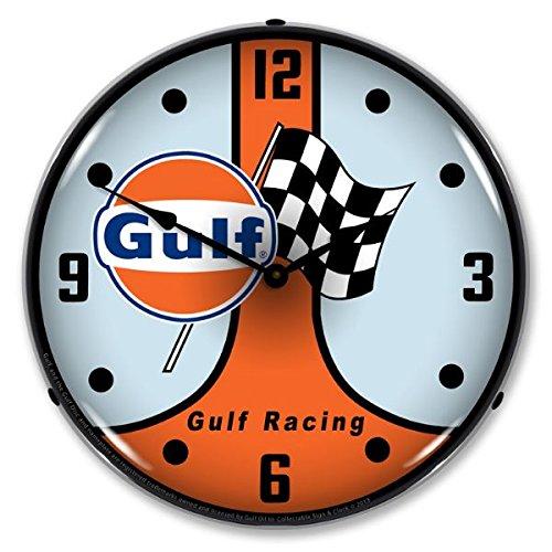 Racing Quart (Gulf Racing GT40 Lighted Wall Clock)