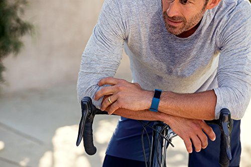 Fitbit Charge 2 Heart Rate + Fitness Wristband, Blue, Small (US Version) by Fitbit (Image #4)