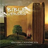 Bible Verses Mini Wall Calendar 2016: 16 Month Calendar