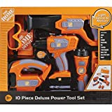 The Home Depot Deluxe Power Tool Set With Carry Case(Toy)