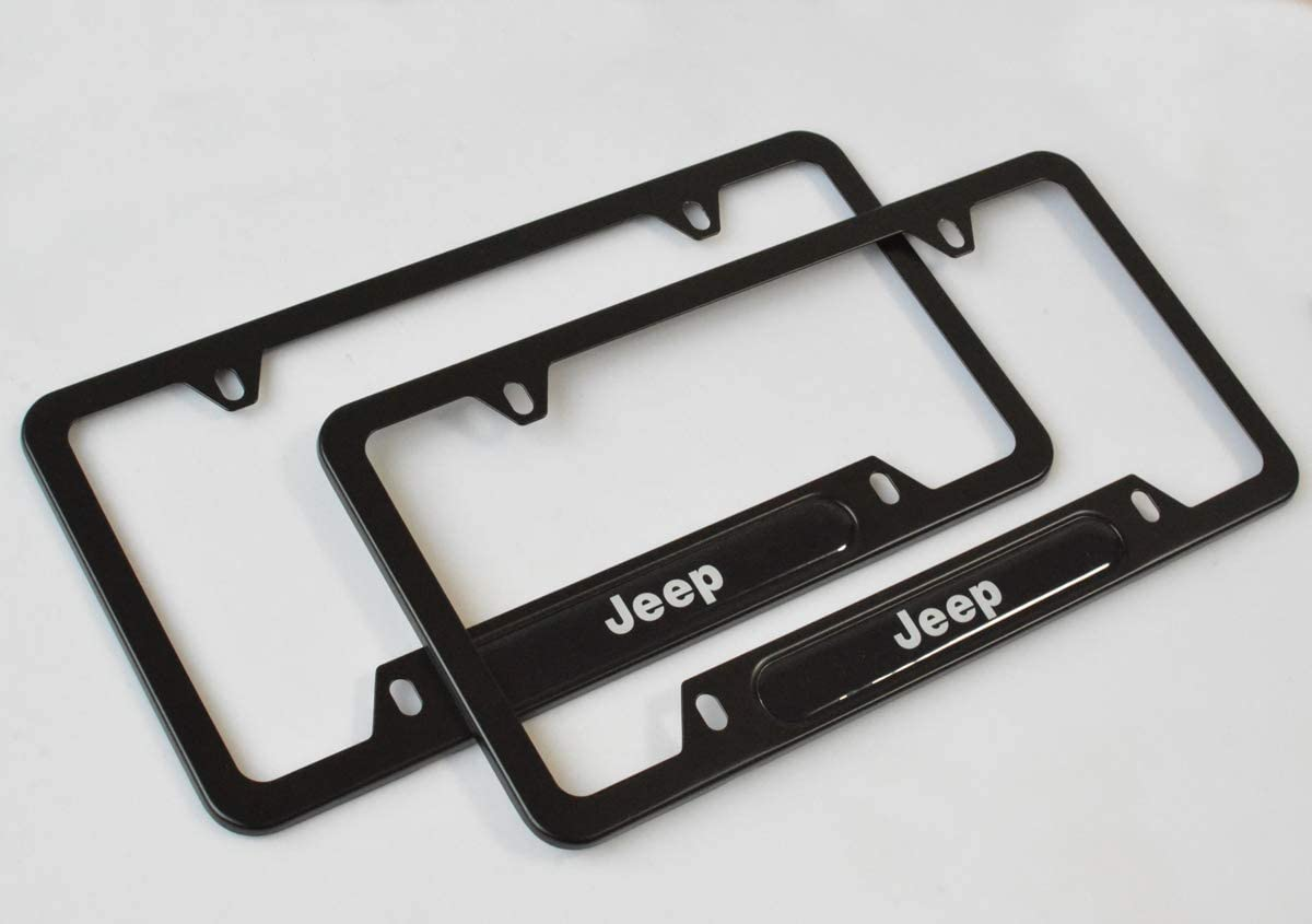 2-Pieces High-Grade License Plate Frame for BMW,Applicable to US Standard car License Frame