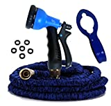 50' Expandable Garden Hose, Kink Free, Strongest, 8-Set Review and Comparison