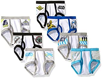 Star Wars Toddler Boys 7 Pack Underwear, Assorted, 4T