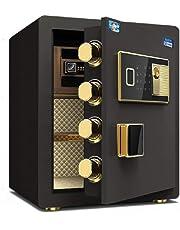 d62ba09bd Caja fuerte para casa - Huellas dactilares Contraseña Gabinete Caja fuertes  Incombustible e impermeable Caja fuerte