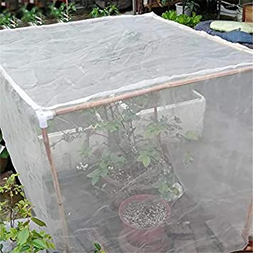 Fruit Tree Cover Insect Net,Garden Plants Crop Protection 2 * 2 * 2M Fine Mesh Crop Protection Netting YFGlgy Garden Netting Anti-Bird Tree Cover