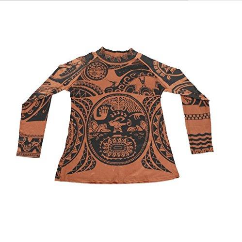Maui men tattoo t shirt pants set tribal imprint tee for Maui shirt tattoo